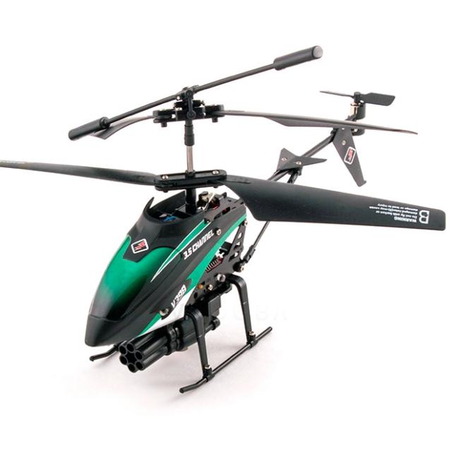 WLtoys V398 Missile Helicopter